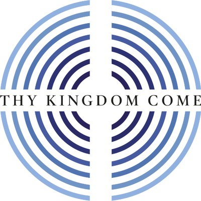 Thy Kingdom Come White Logo