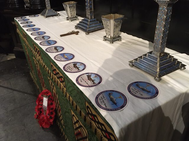Roundels on Altar